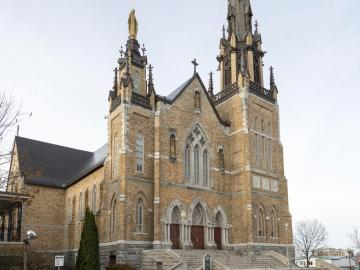 Image result for eglise saint frederic drummondville